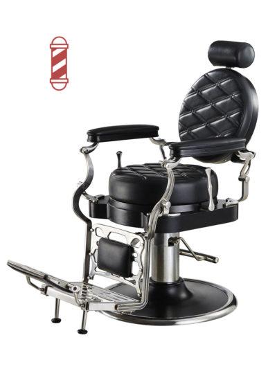 sillón barbero respaldo redondo antoine